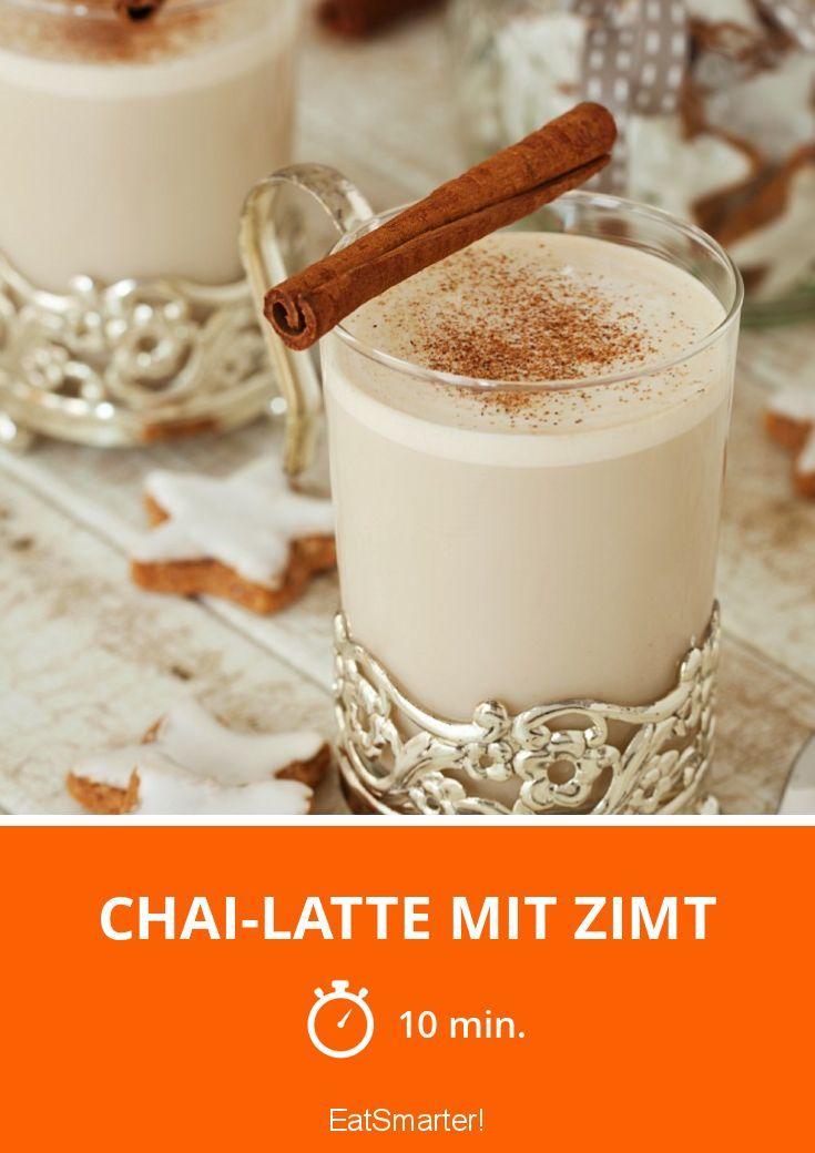 Chai Latte Mit Zimt Rezept Chai Latte Rezept Rezepte Und Chai Tee Rezept