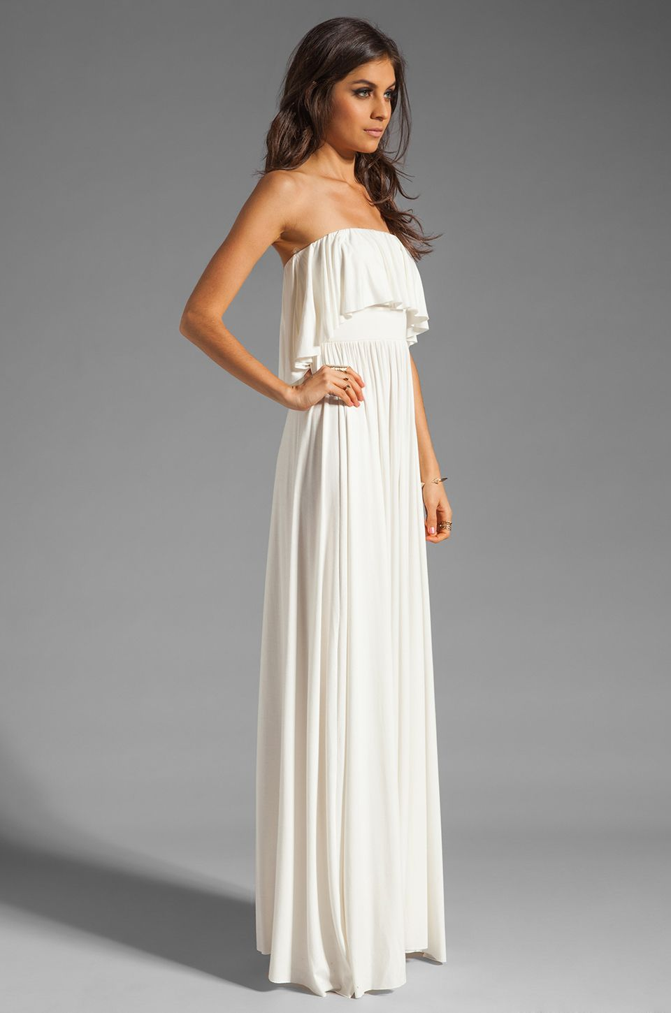 strapless-maxi-dress- | Straplees Maxi Dress | Pinterest ...