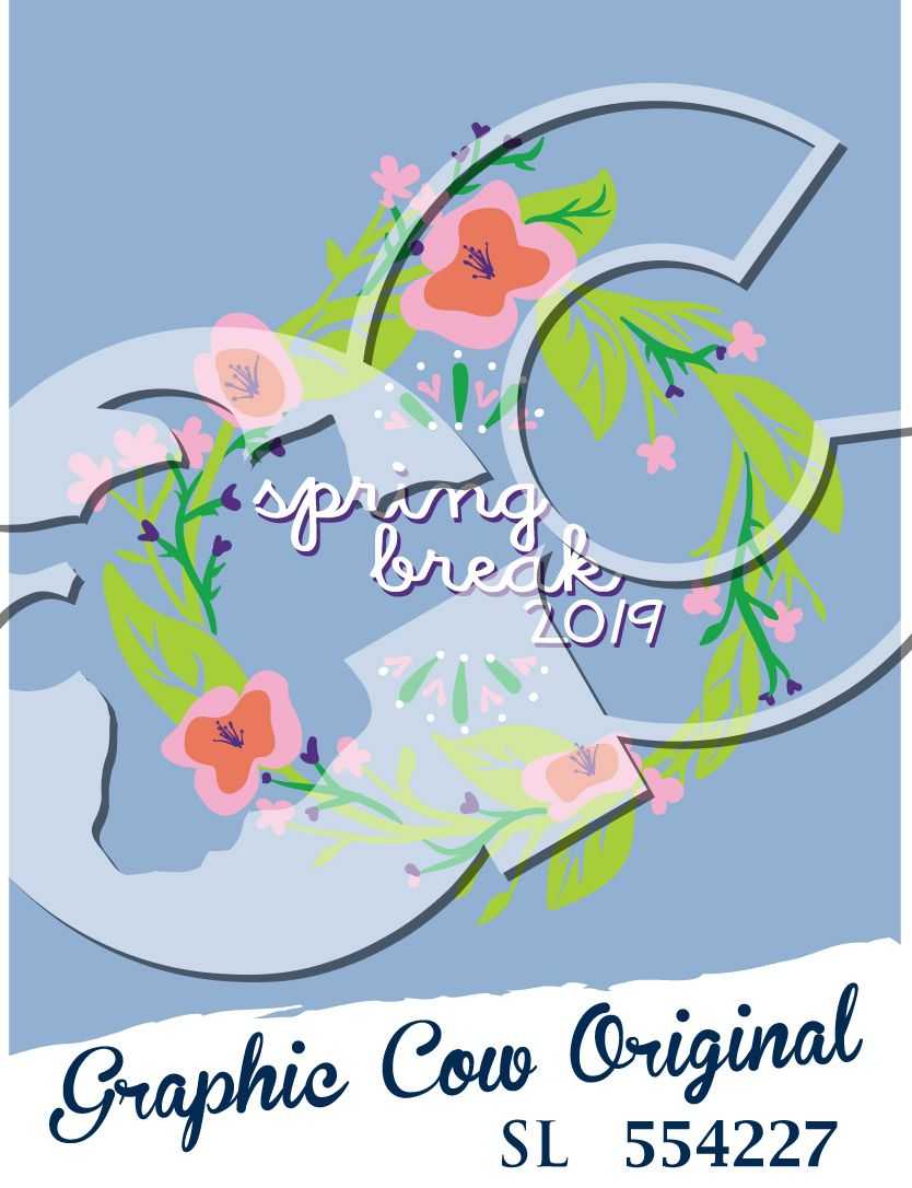 Spring Break Flowers Greens Vines Sorority Grafcow Sorority Pr