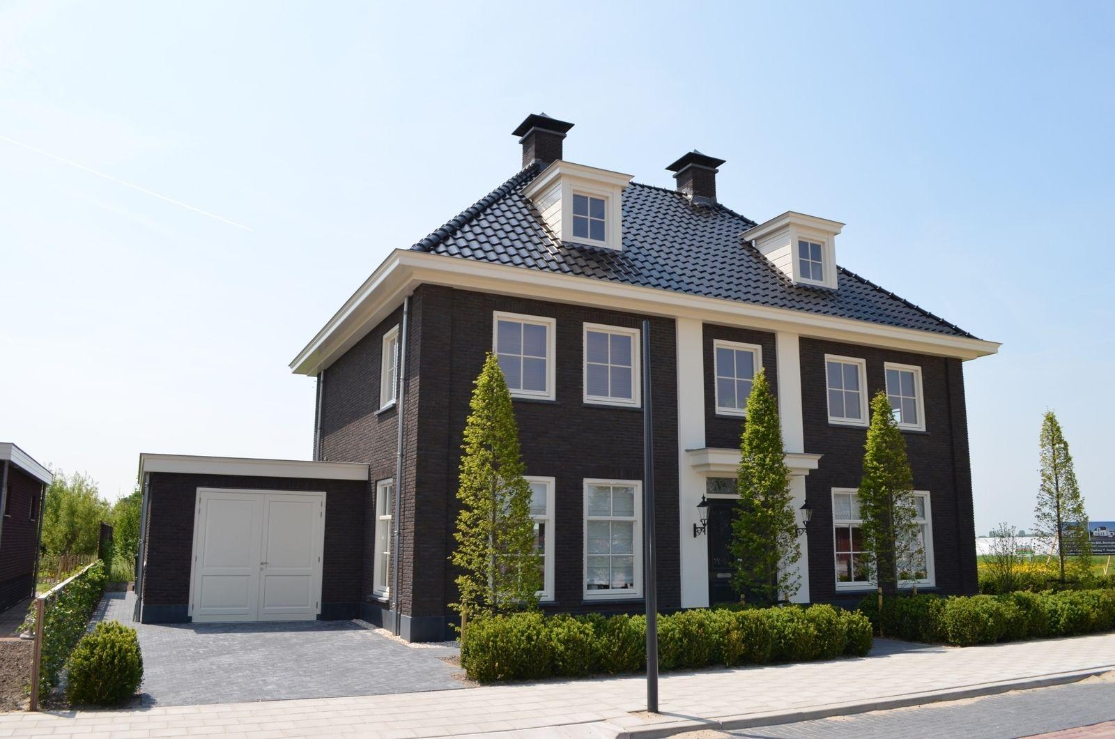 Riant herenhuis met garage dreamhouse house design house en