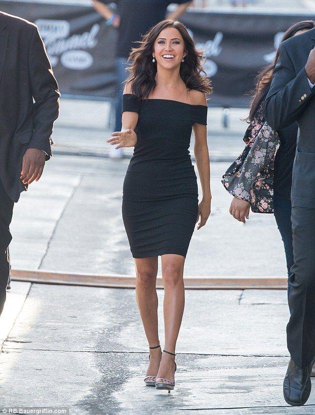 Bachelorette Kaitlyn Bristowe Steps Out In LBD LA For Jimmy Kimmel