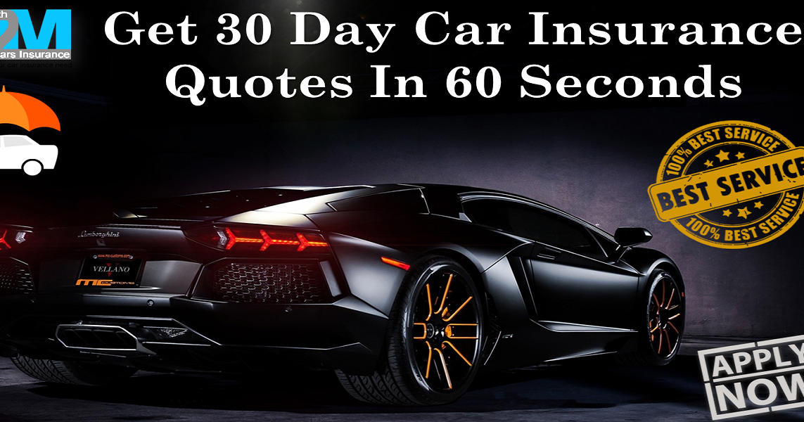 New Screen Get Car Insurance For 30 Days No Deposit To