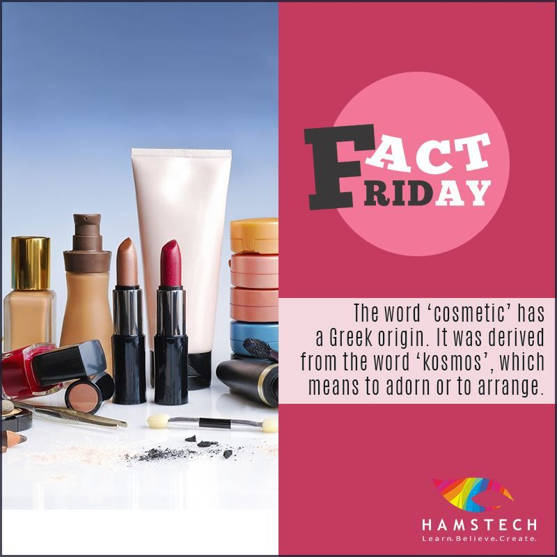 Thank God It S Fact Friday We Love Using Cosmetics To Create