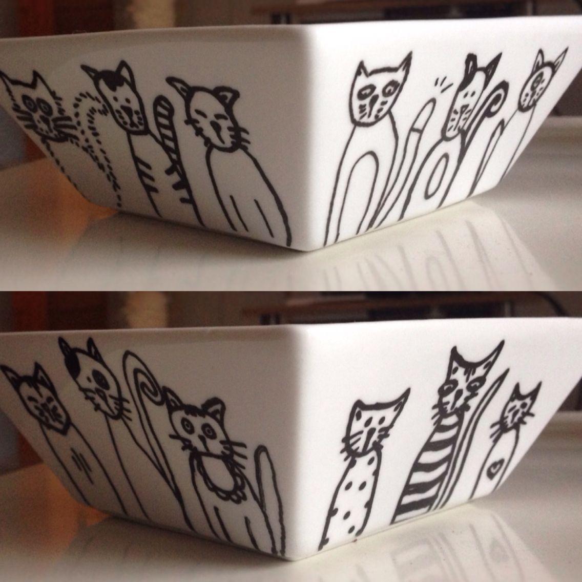 Müslischale für Katzenliebhaber