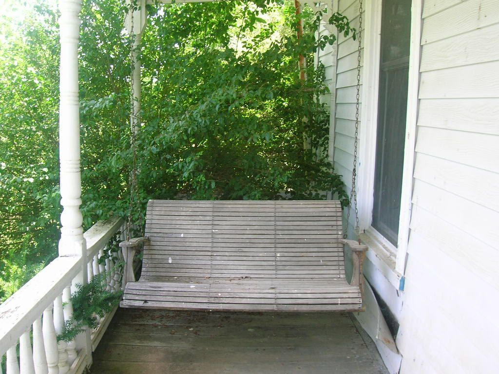 That Old Porch Swing What Stories It Could Tell With Images Porch Swing Porch Patio Patio