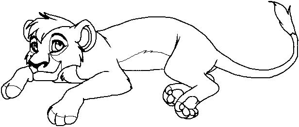 Kovu break lion king coloring pages pinterest for Kovu coloring pages
