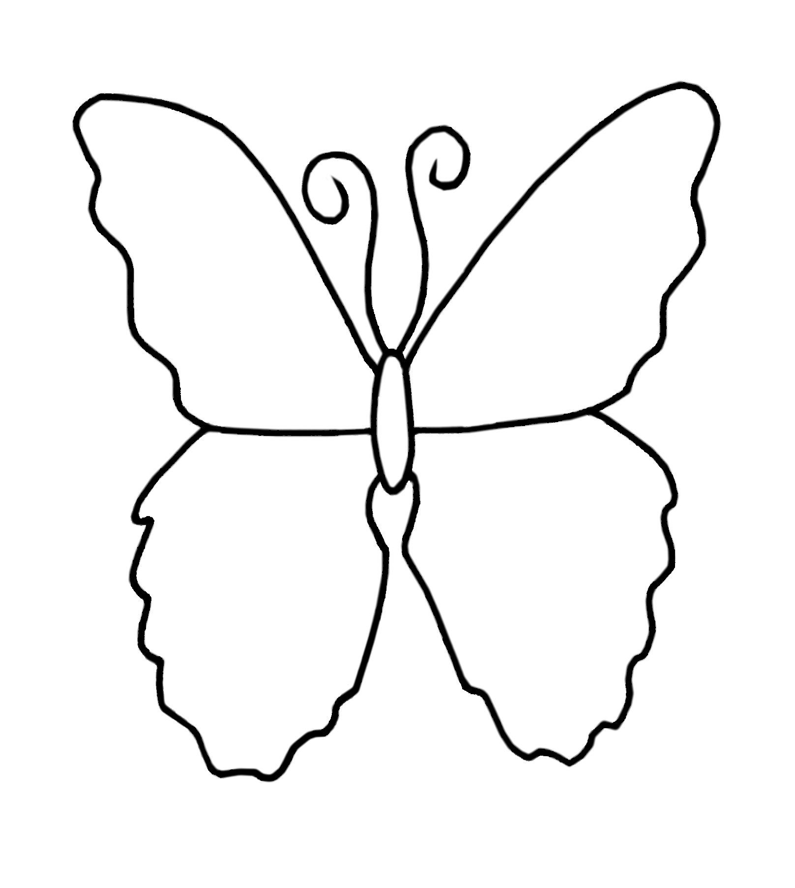 Coloring Page Butterfly By Blackcatstitchcrafts On Etsy