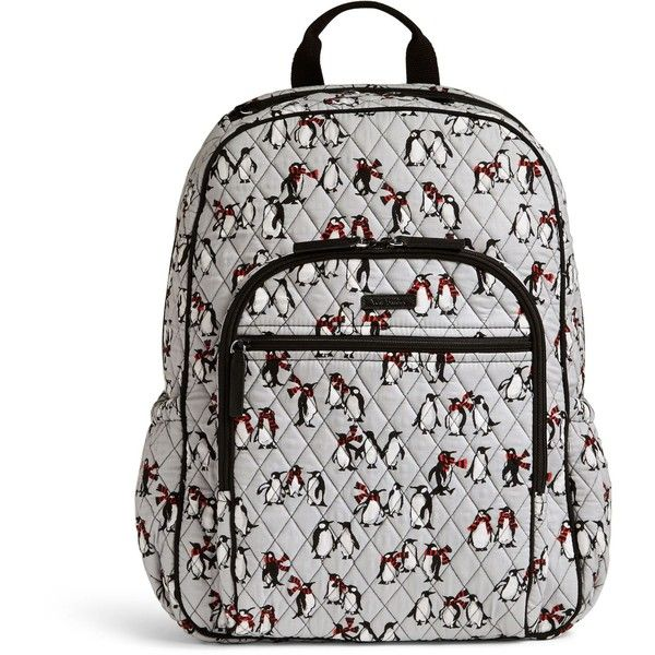 47163dedec7a Vera Bradley Campus Tech Backpack ( 108) ❤ liked on Polyvore featuring  bags