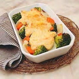 Pure de garbanzos con verduras
