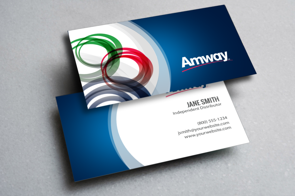 Amway Distributors Do You Need A New Business Card Mlm Amway Print Paper Graphicdesign Businesscards Con Printing Business Cards Amway Business Amway