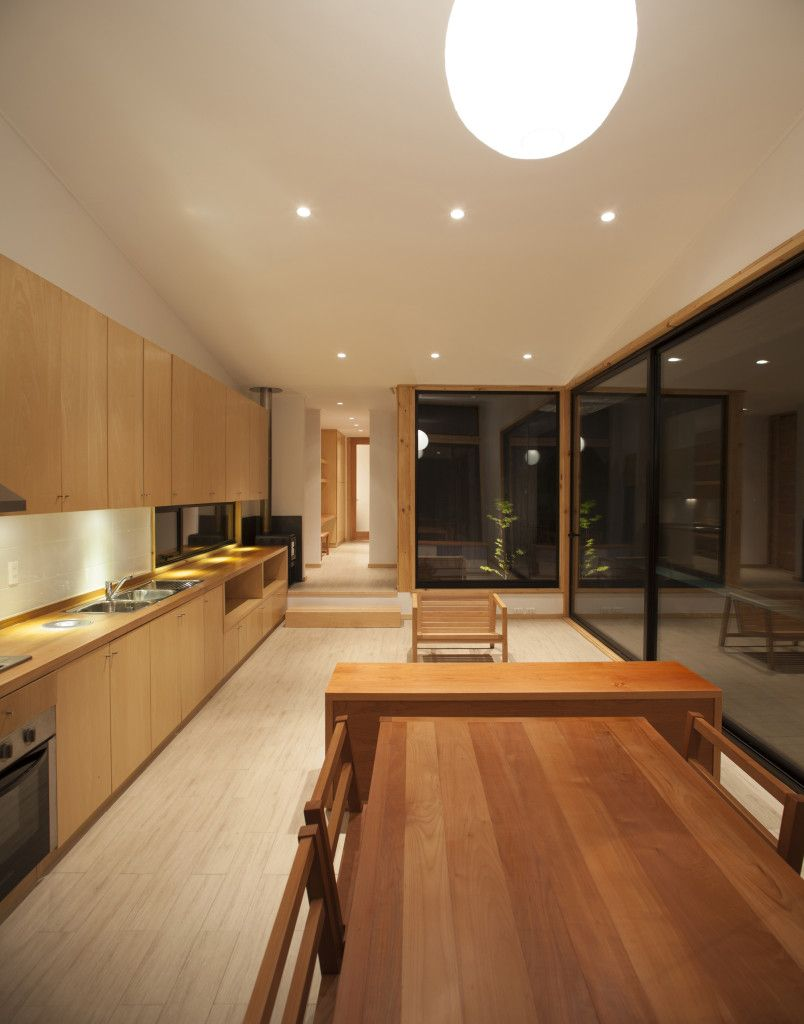 shipping container house inside 2