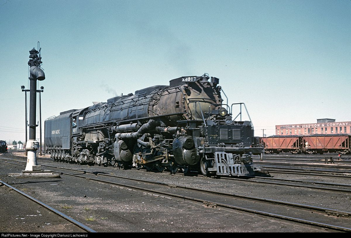 Railpictures net photo up 4017 union pacific steam 4 8 8 for Railpictures