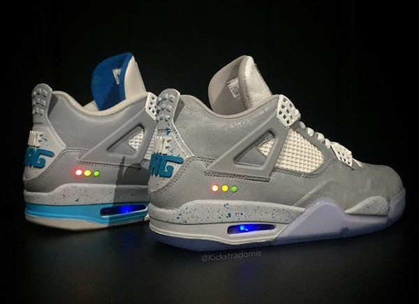 timeless design 2f672 7b502 Air Jordan 4 Laser Air Mag 4.0