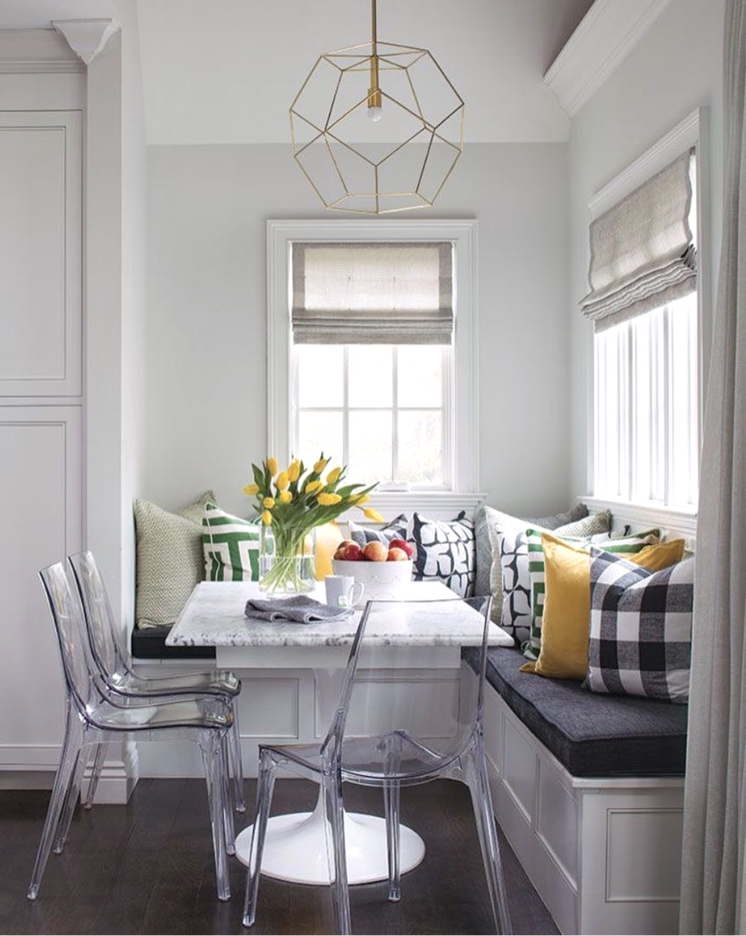 9 Kitchen Nook Ideas so Sweet You'll Almost You're