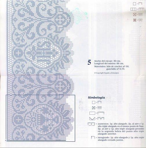 Filet crochet - Majida Awashreh - Álbumes web de Picasa   crochet ...