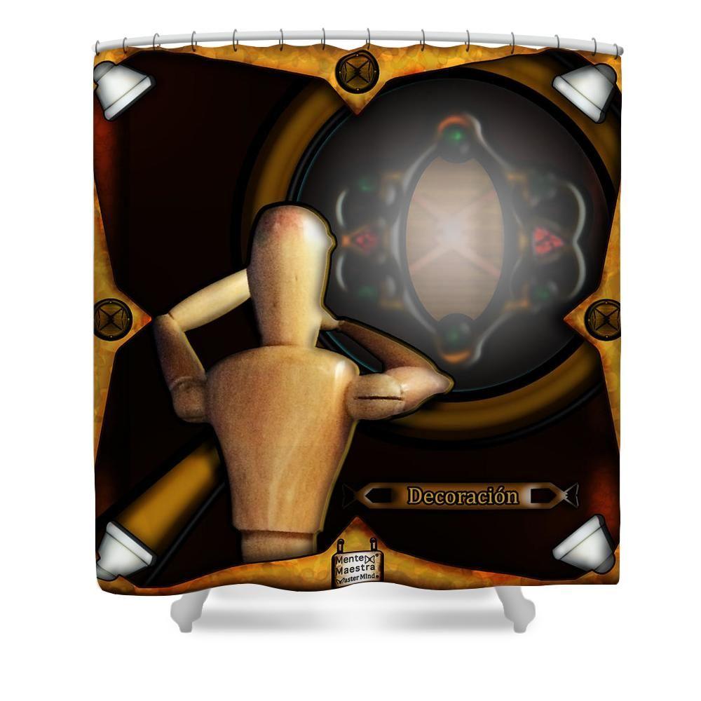 Hugo Deko deko shower curtain by hugo eloy tao shower curtain graphical