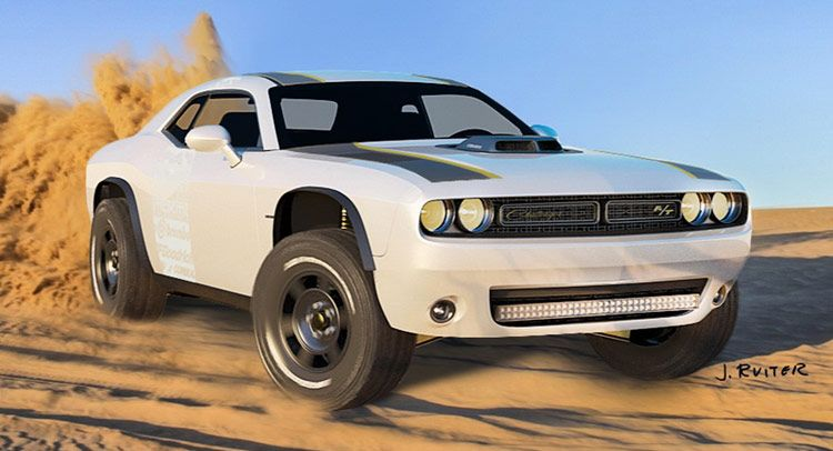 Dodge Challenger A T Untamed Concept Has Suspension Travel For