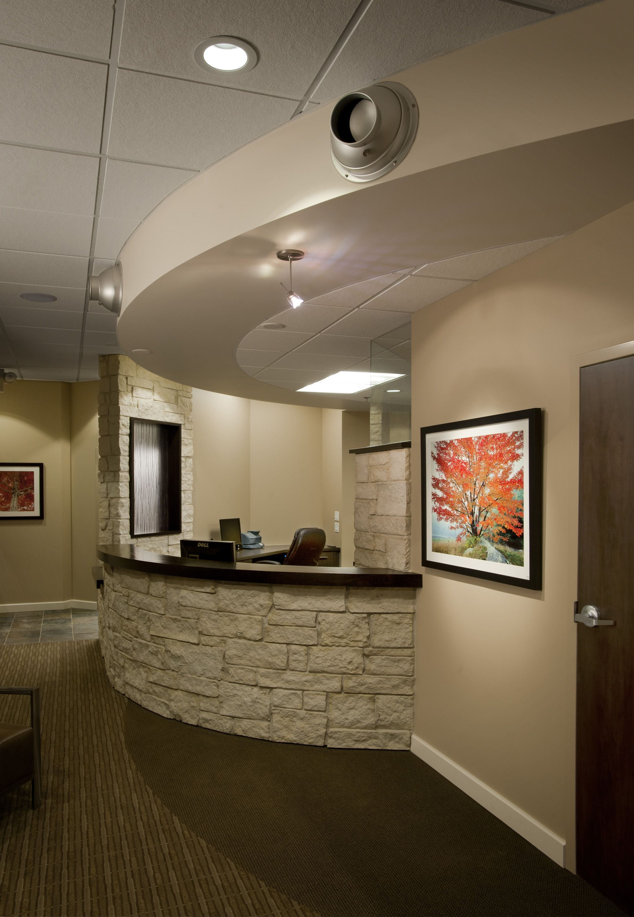 Front Office Medical Office Design Chiropractic Office Design