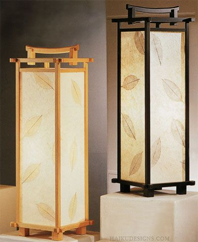 Asian Style Lighting japanese inspired lights | table lamp brings an exquisite style