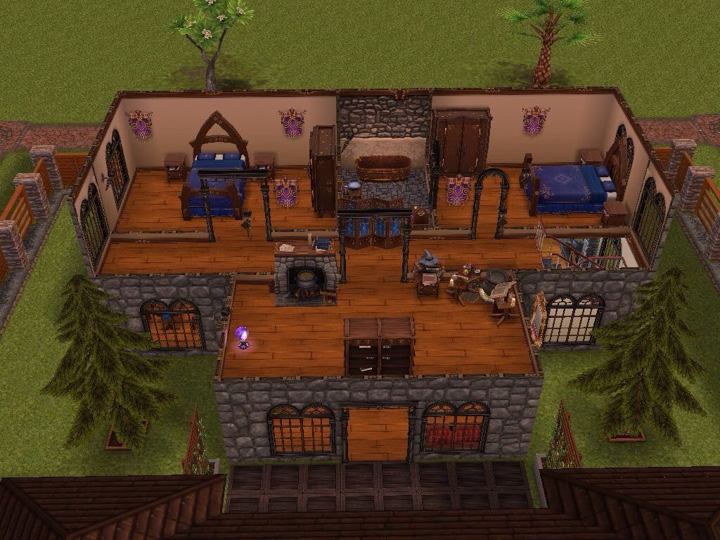 House 27 level 2 sims simsfreeplay simshousedesign
