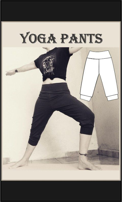 Yoga pants Sewing Pattern Stop searching for that perfect outfit by ...