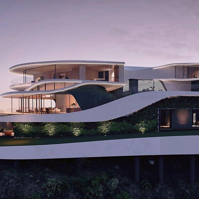 Dream Houses Dreamithouses Instagram Fotograflari Ve Videolari Luxury Homes Dream Houses Futuristic Home Architecture House