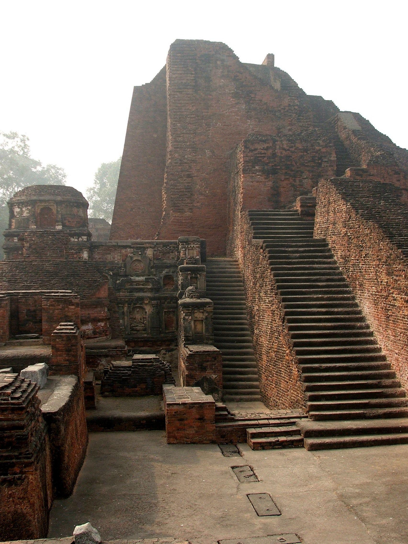 Library Of Nalanda University Dharma Gunj Mountain Of Truth