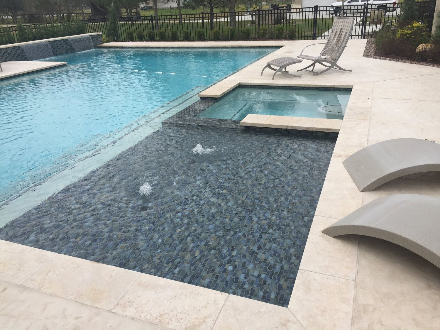 Photos - Bubbler — Backyard Amenities | Houston Pool Builder ...