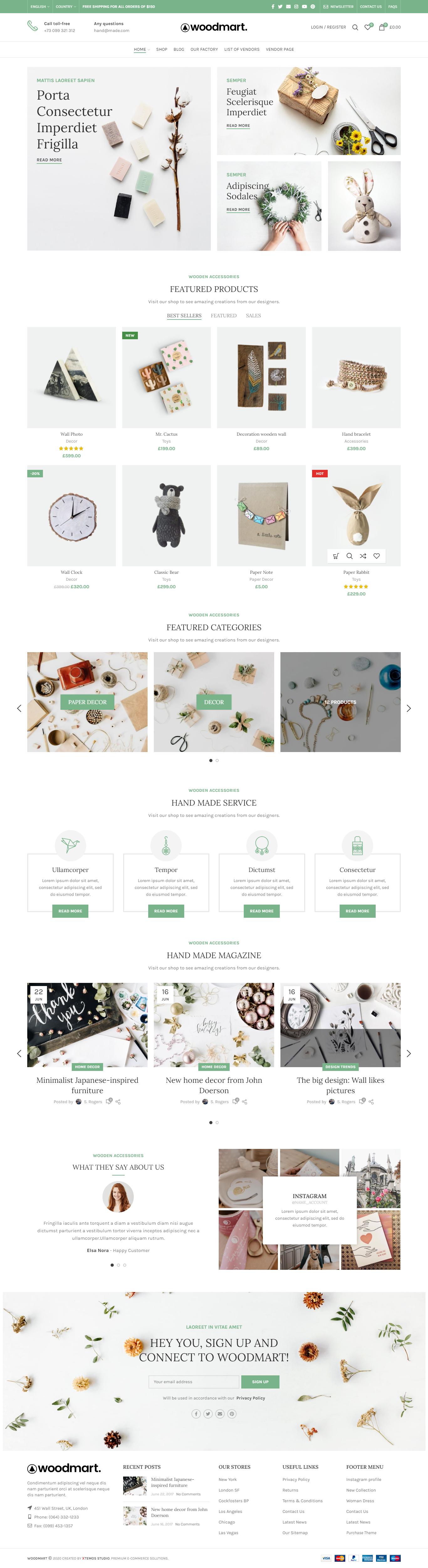 Handmade Web Design Web Templates Duofankaar In 2020 Create Website Templates Website Template Design