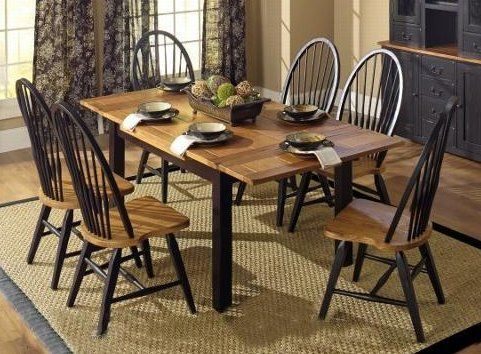 "Country Marketplace - Solid Oak 38"" x 54"" Heartland Junior Harvest Table with two 12"" pull-out leaves with 4 Windsor Chairs   #dining  (http://www.countrymarketplaces.com/products/Solid-Oak-38""-x-54""-Heartland-Junior-Harvest-Table-with-two-12""-pull%2dout-leaves------with-4-Windsor-Chairs.html)"