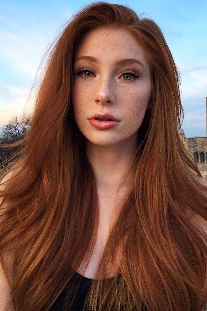 Natural Redhead Redhair Longhair Discover The Red Hair