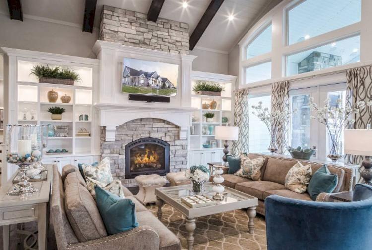 30 exciting farmhouse living room decor ideas on a budget