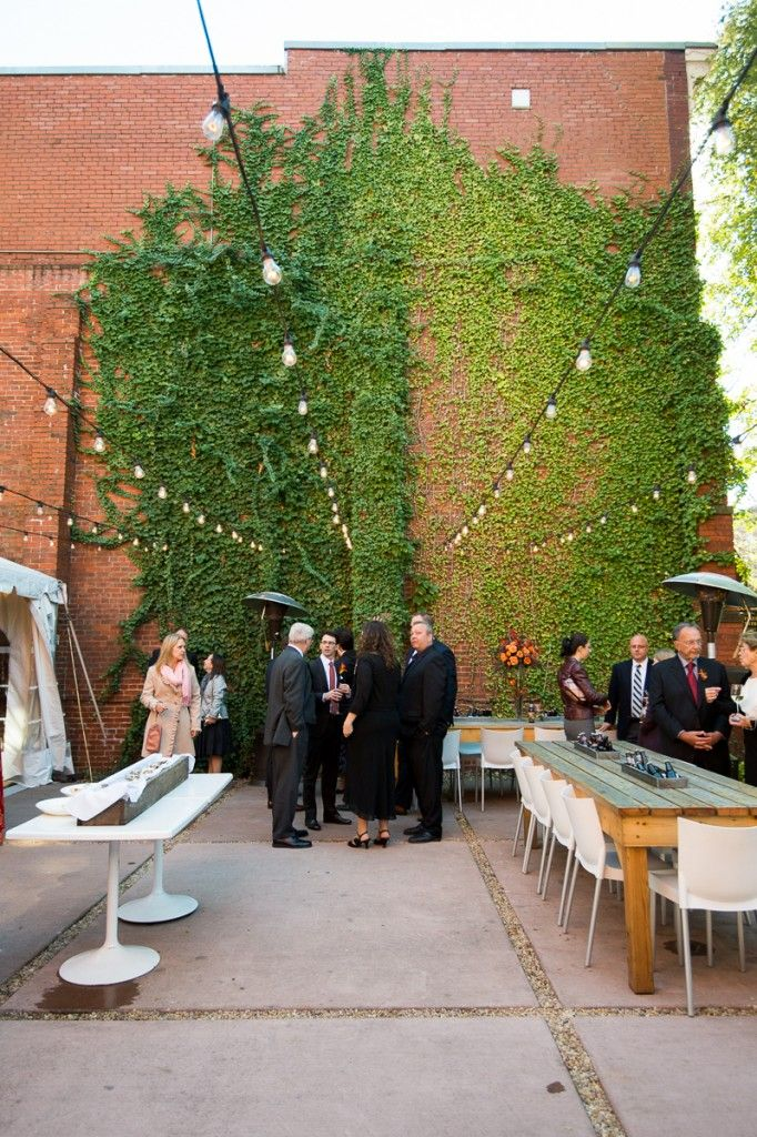 Modern Fall Wedding At Volt Restaurant Frederick Md Event Accomplished Llc American Visionary Art Museum Wedding Restaurant Wedding Wedding