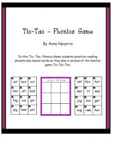 Tic-Tac-Phonics Game-Hurry up! This giveaway promotion ends at 11:59:59PM CST on 05-28-2013