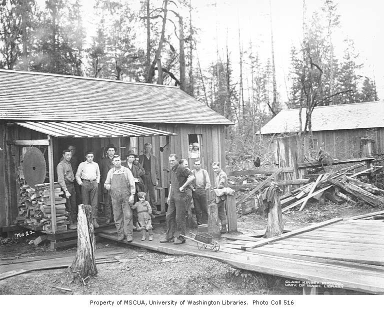 Coal Creek Lumber Company Mess Hall 1921