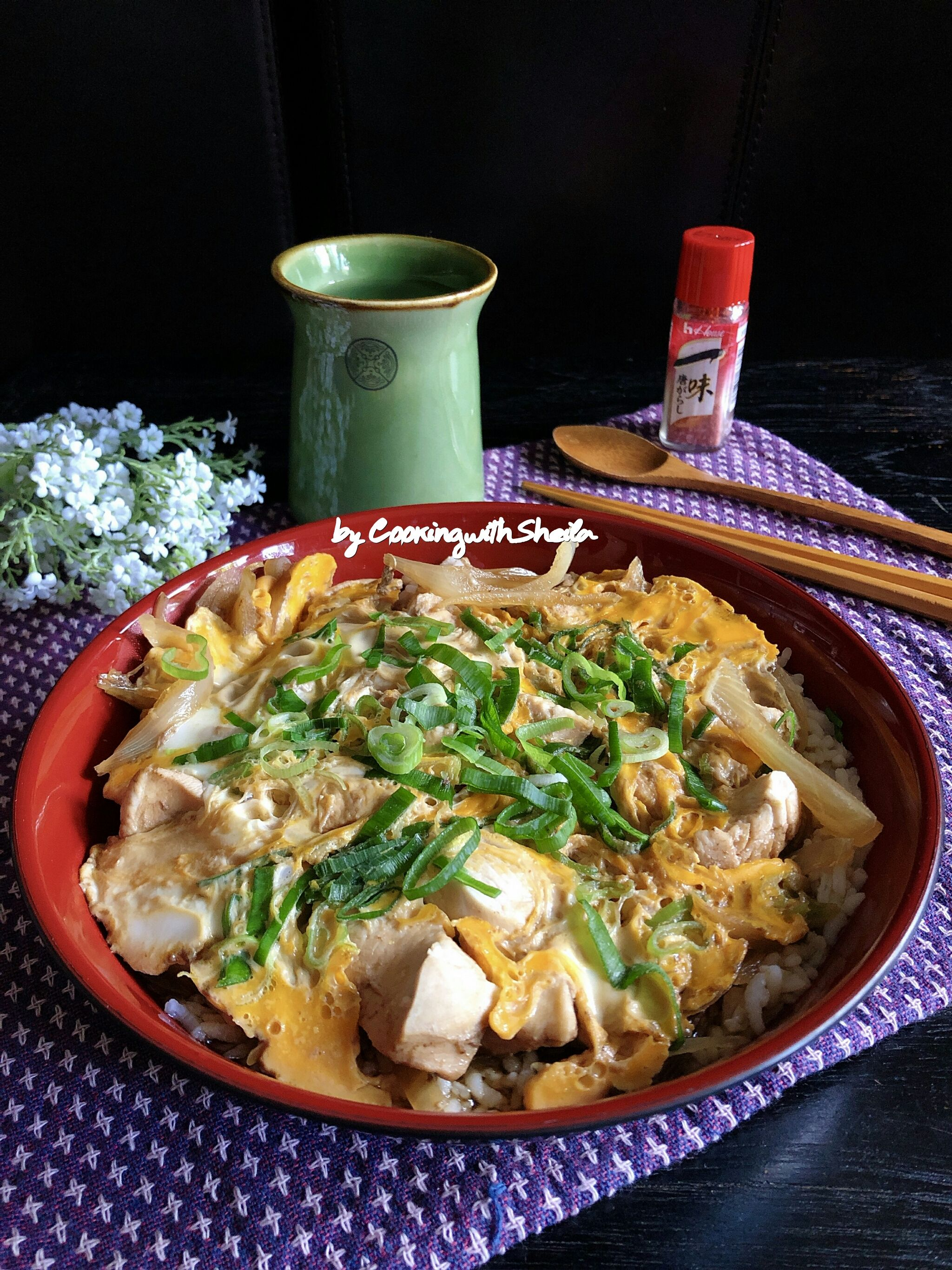 Oyakodon Cooking With Sheila Memasak Resep Masakan Indonesia Resep Makanan
