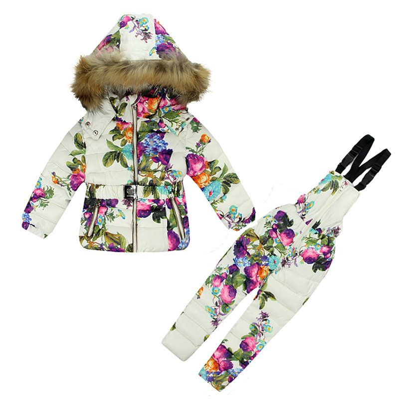 2b81672e2 Free Shipping  Buy Best Boys Girls Ski Suit YAOYAO BEAR Brand Winter ...