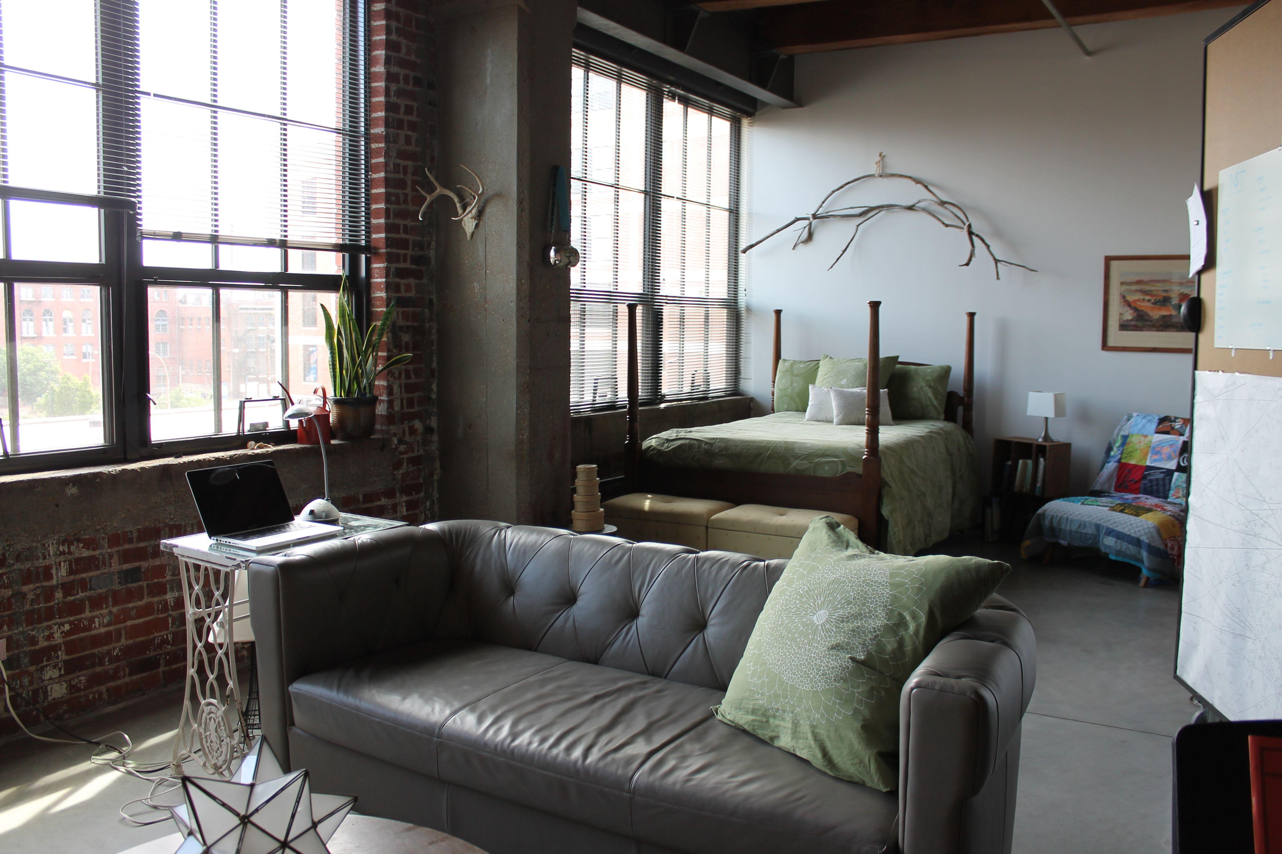 Anau0027s Reclaimed Style Loft In St. Louis