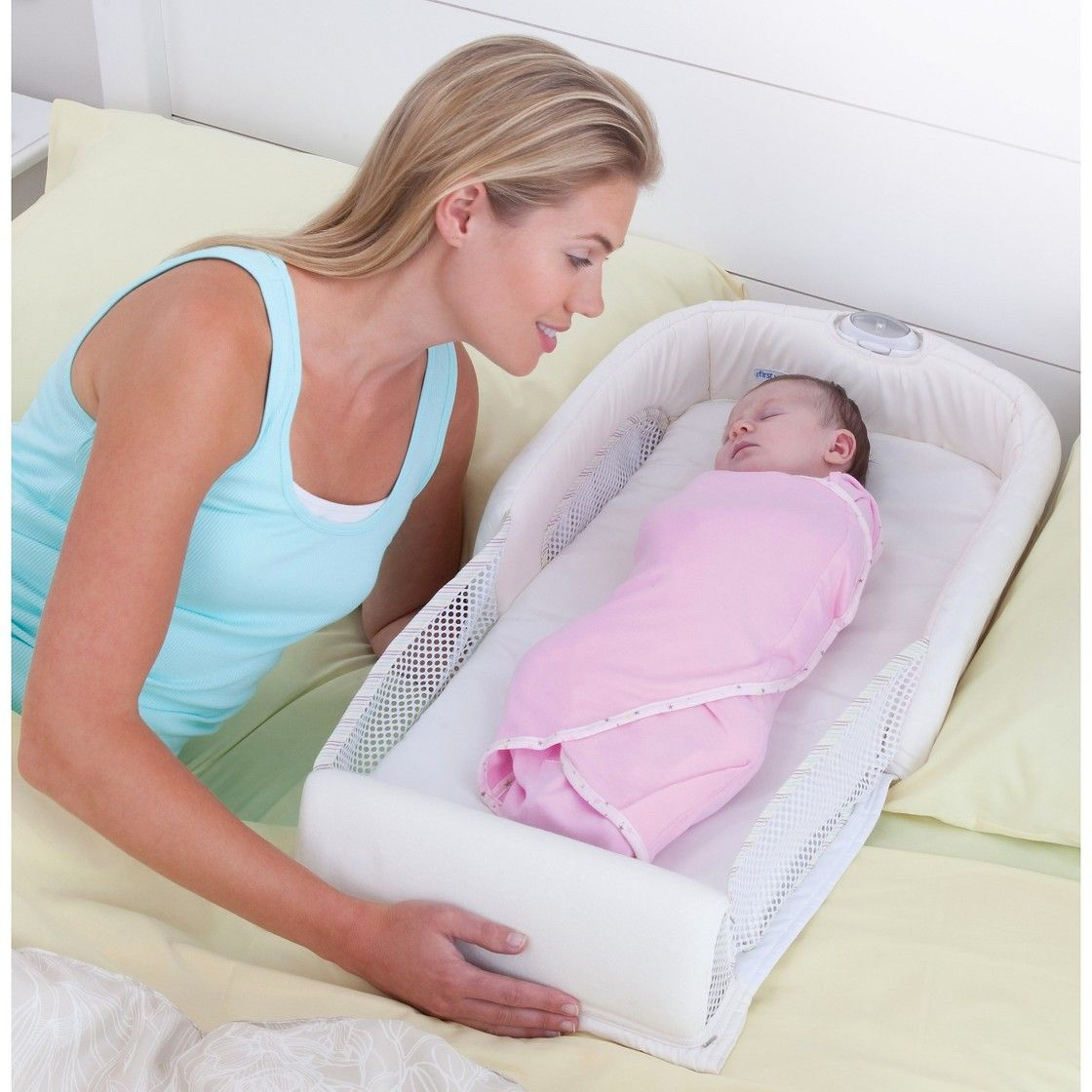 Baby Delight Snuggle Nest Surround XL Portable Infant Bed