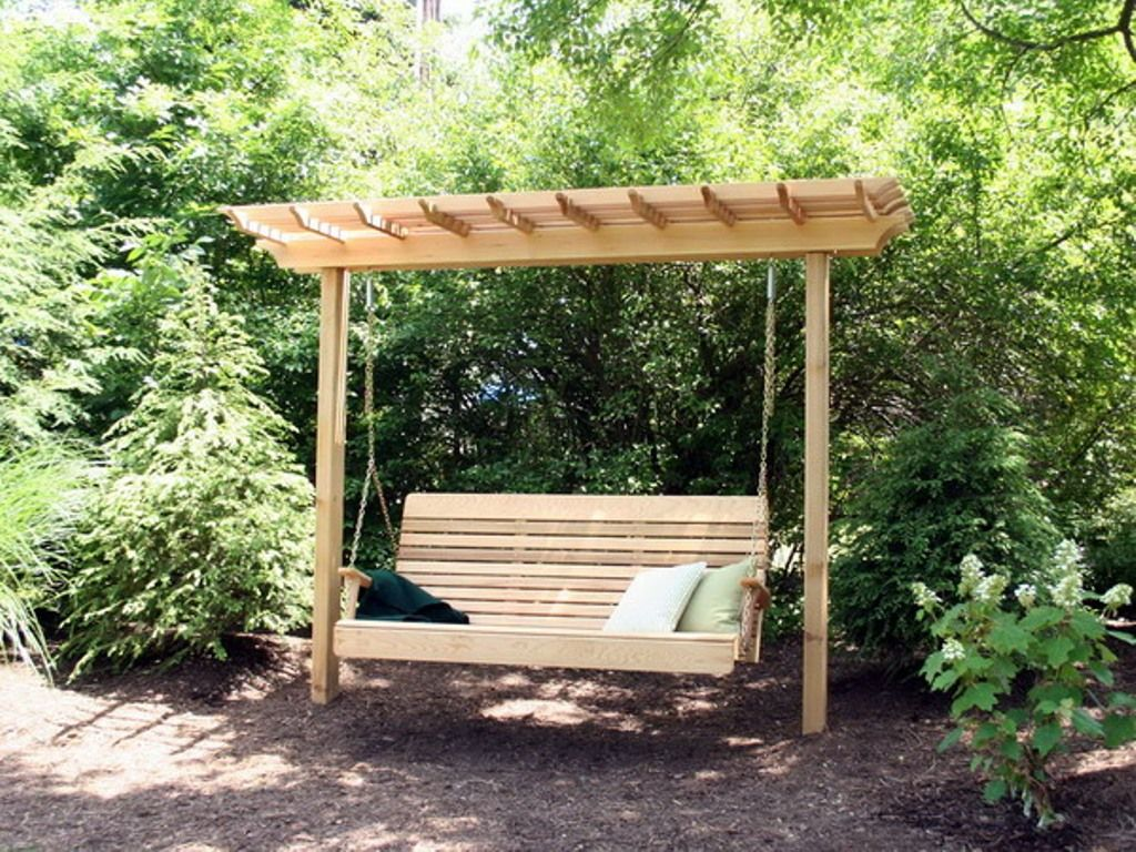 Fresh How to Build A Freestanding Porch Swing Frame