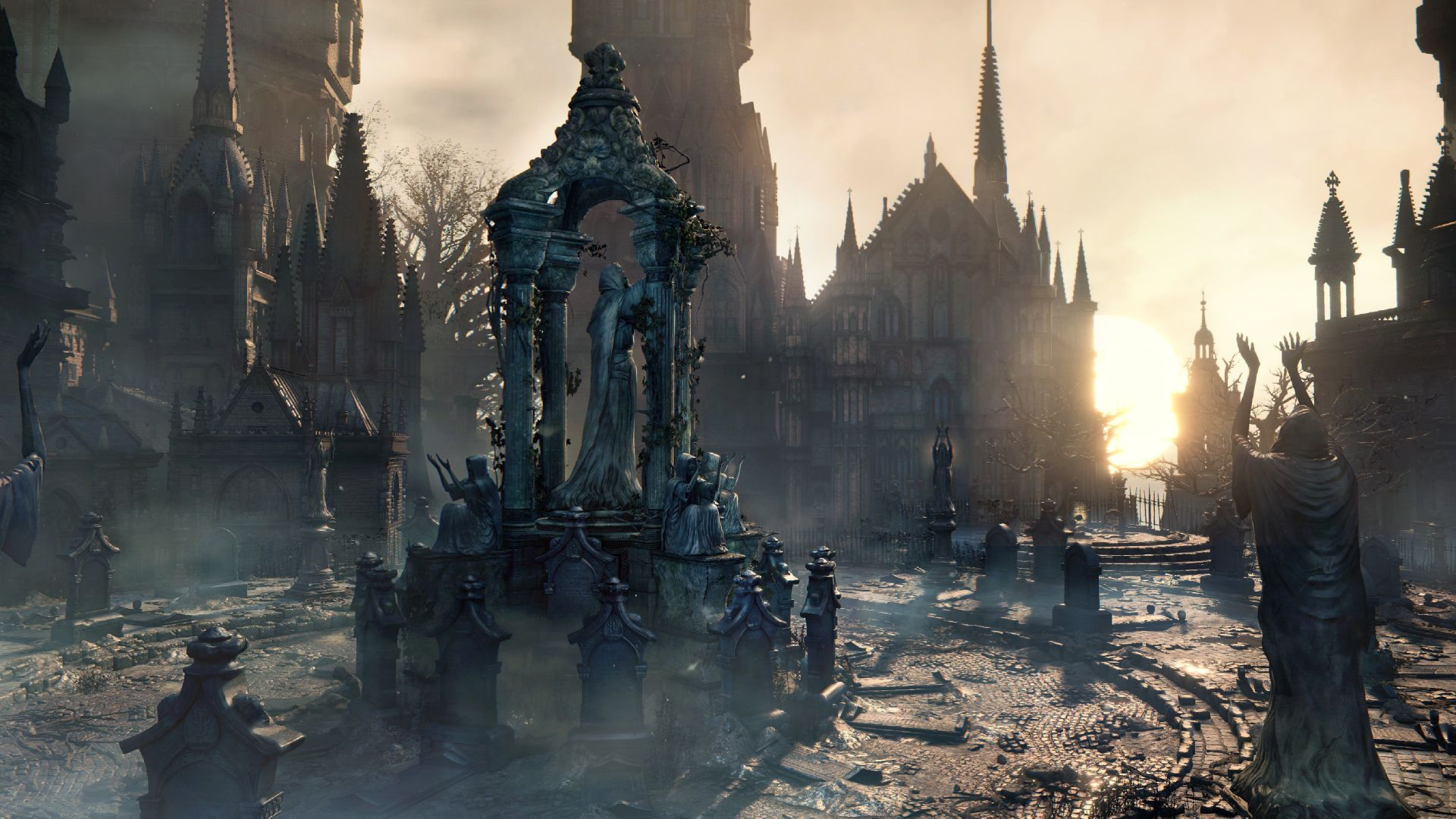 Video Game Bloodborne Wallpaper Bloodborne Bloodborne Art Concept Art