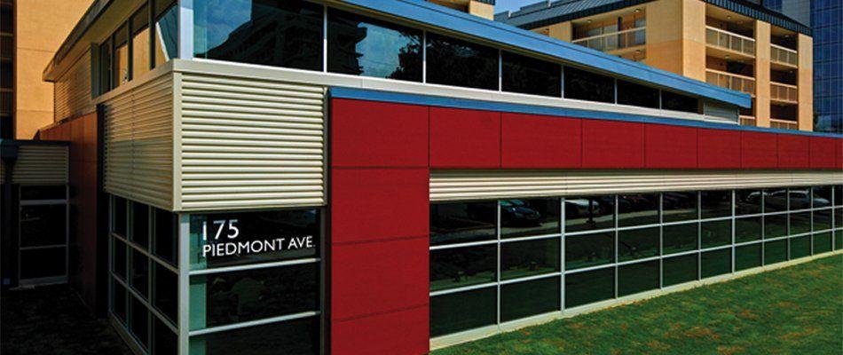 architectural metal wall panels | recreation & wellness center