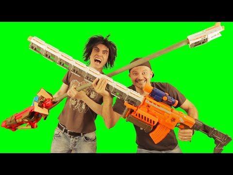 GunVsGun - YouTube. Nerf WarGunsWeaponsPistolsRevolvers