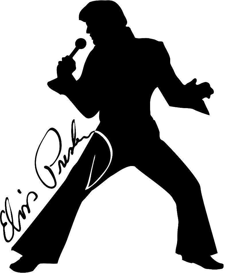 Black And White Google: Elvis Presley Black And White Photo