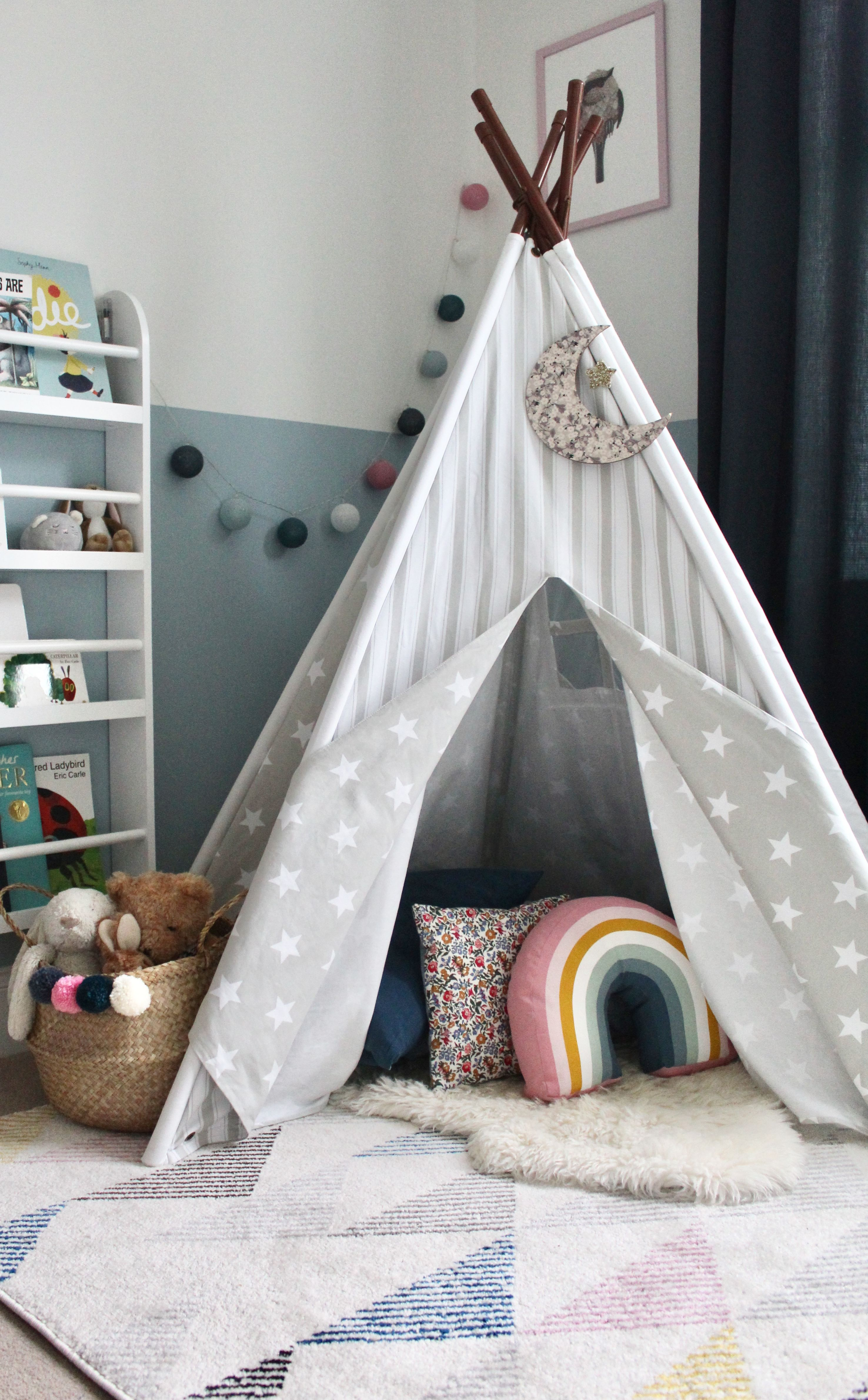 Cosy Teepee Reading Nook Lark Co Interior Design Room For A