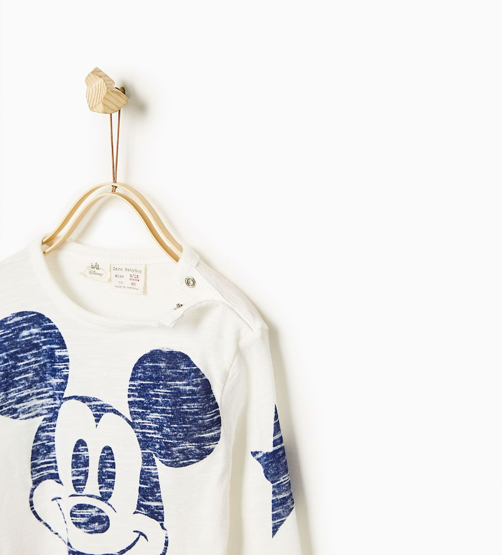 Image 2 of Mickey Vintage T-shirt from Zara   Kids outfits ...