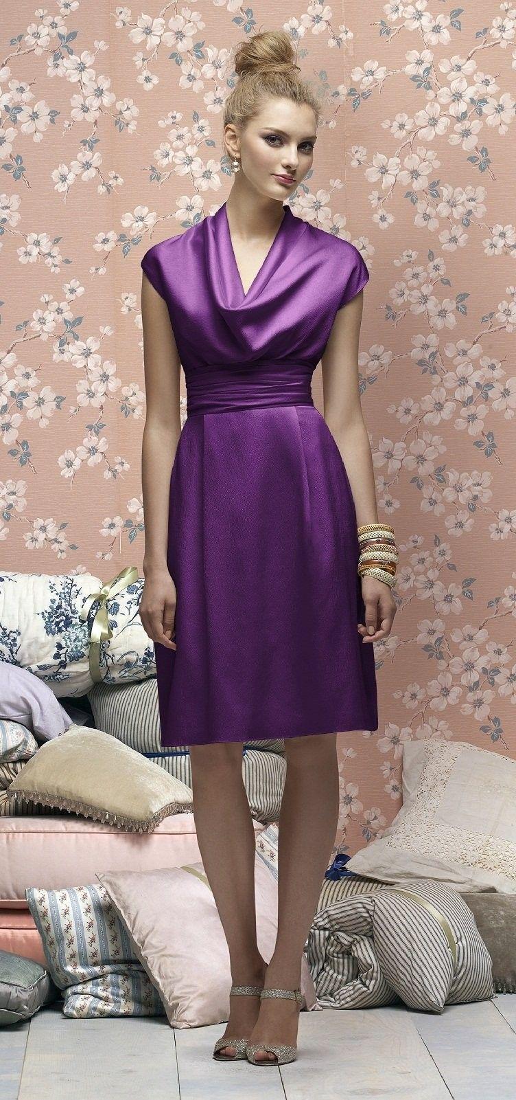 bridesmaid dress by lela rose $276 (african violet) | Wedding Ideas ...