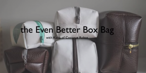 Toiletry Bag Instructional Video with Coconut Robot YouTube