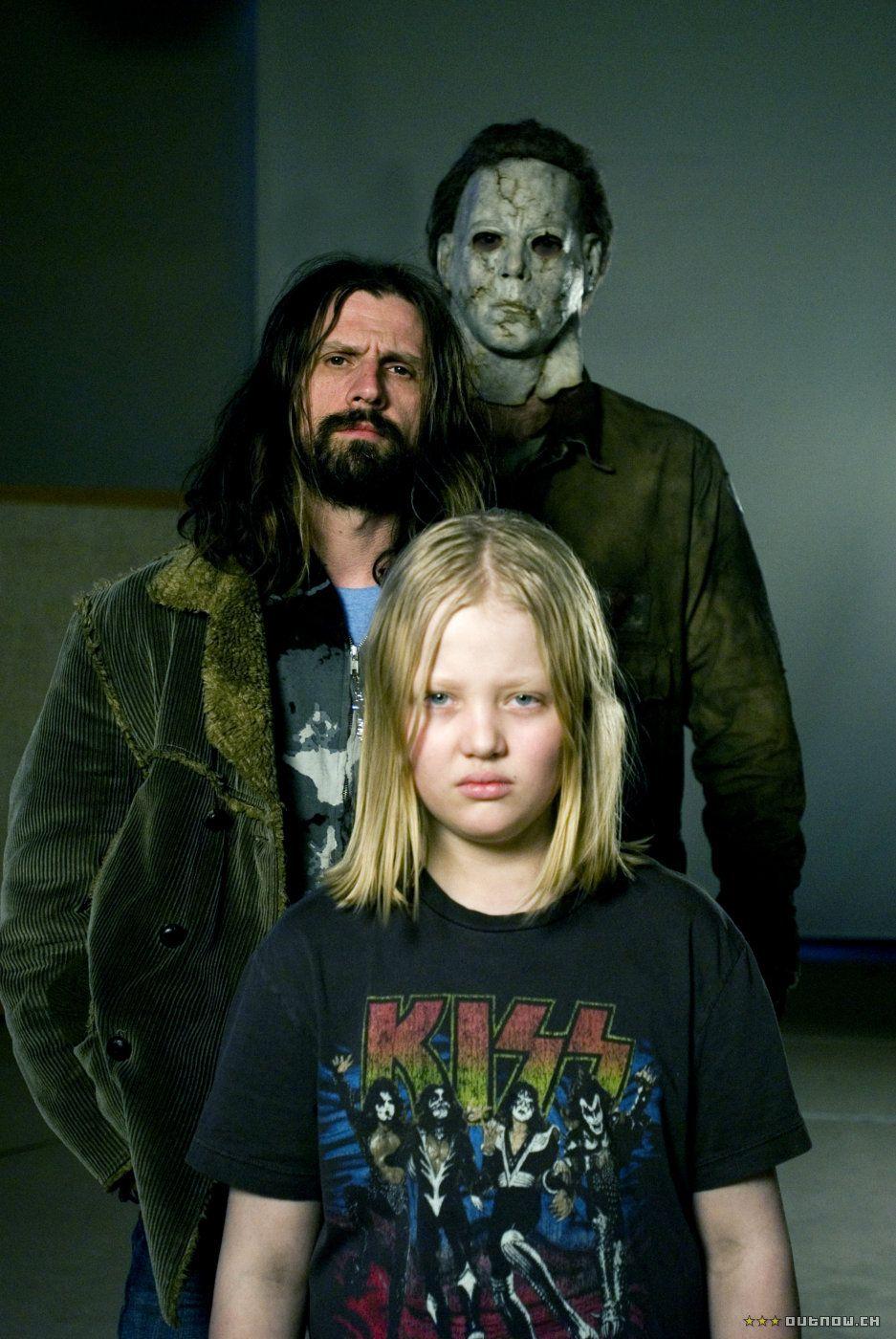Rob Zombie and Daeg Faerch for Halloween (2007) Rob