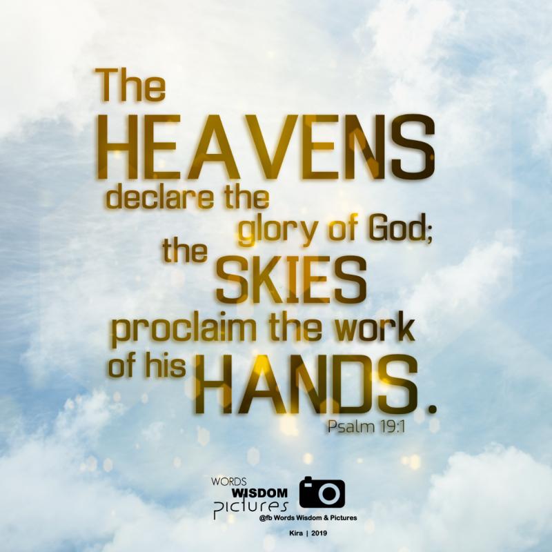 Psalm 19 1 NIV   Psalms. Quotes